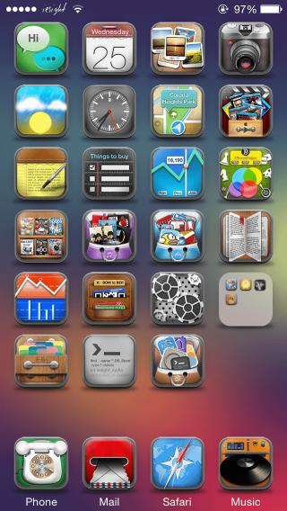 Download iesight iOS 8 IconOmatic 1.0