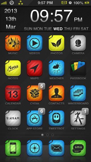 Download iFlat Evolution iOS6 1.0-1