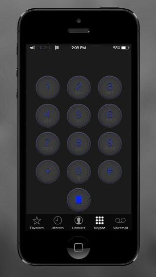 Download iL0NE DarkBlue 1.0