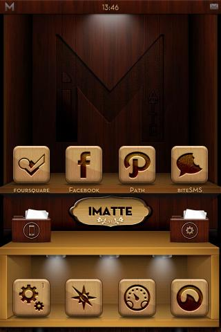 Download iMatte Premium - Dark Wood Edition 5.6