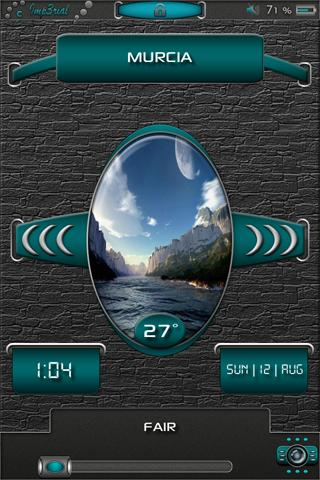 Download Imp3rial LS Weather 24H clock.theme 1.1