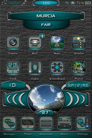 Download Imp3rial SB Weather Center 24H.theme 1.1