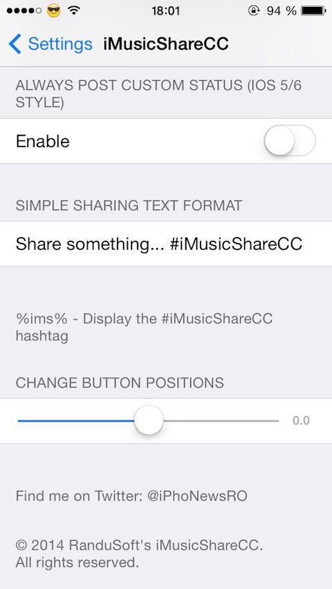 Download iMusicShareCC for Control Center 1.1.2
