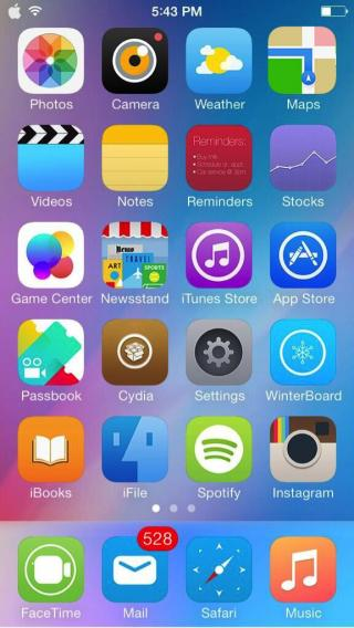 Download iOS 10 Theme 1.2