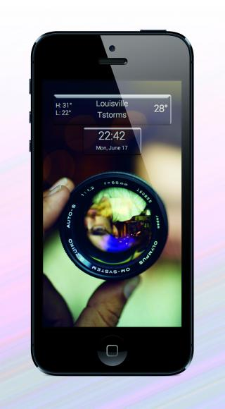 Download IOS7 I5 Pic Weather LS 1.0