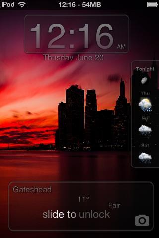 Download iOS7 Weather LS i4 1.1.2