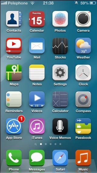 Download iOS 8 Theme 3.2
