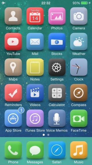 Download iOS 8 Theme for iOS 8 1.0
