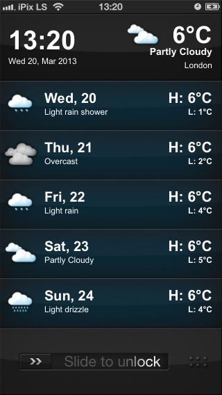 Download iPix HD Weather LS 1.1
