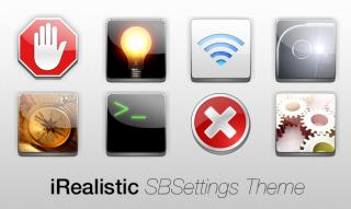 Download iRealistic SBSettings for Notification Center 1.1