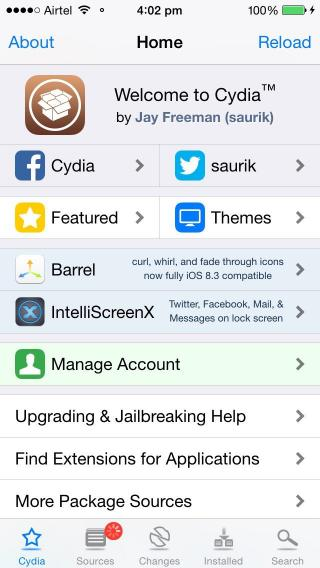 Download iSevenuos iOS 8 1.0