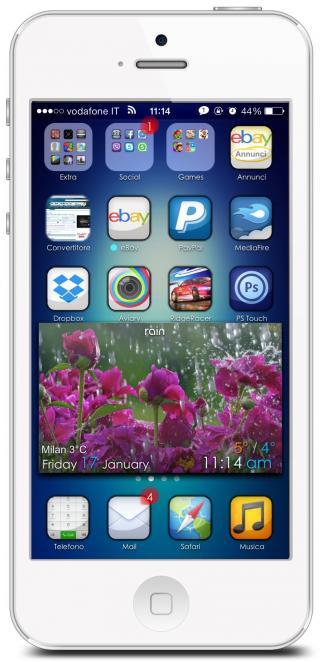 Download iShady iOS7 iWidgets 1.0