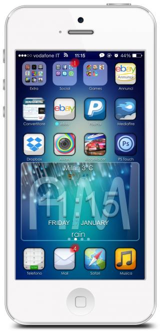 Download iShady iOS7 iWidgets 1.0