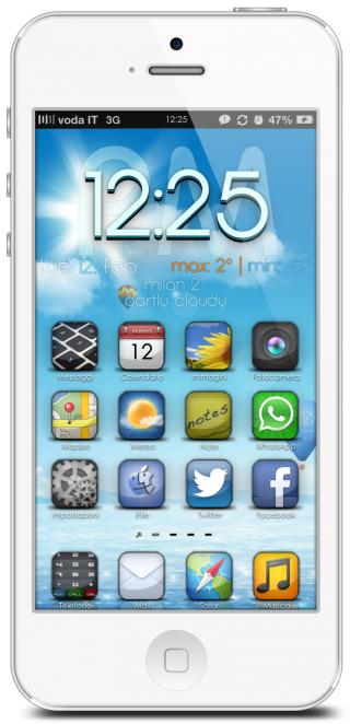 Download iShady iP5 Widgets 1.2