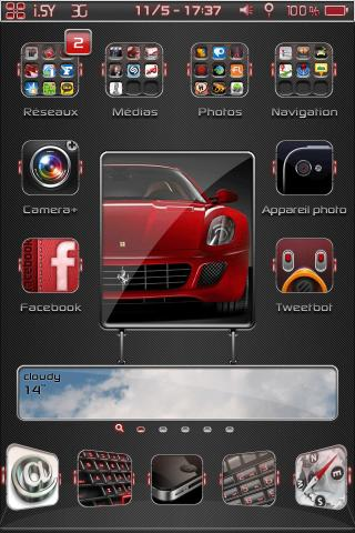 Download i.Simply Weather Red 1.0