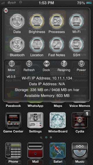 Download iSpirit SBSettings 1.0