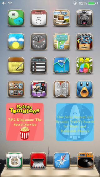 Download iWidgets Ultimate Pack iOS 8 Flat 1.0-1