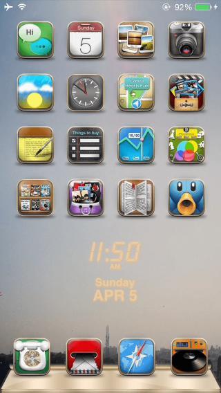 Download iWidgets Ultimate Pack iOS 9 Flat 1.0