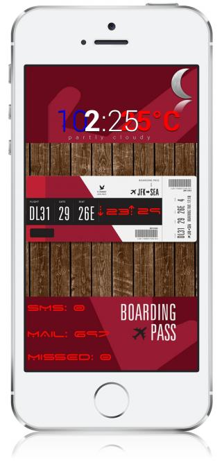 Download LBTheme - boarding pass by dubailive 1.0