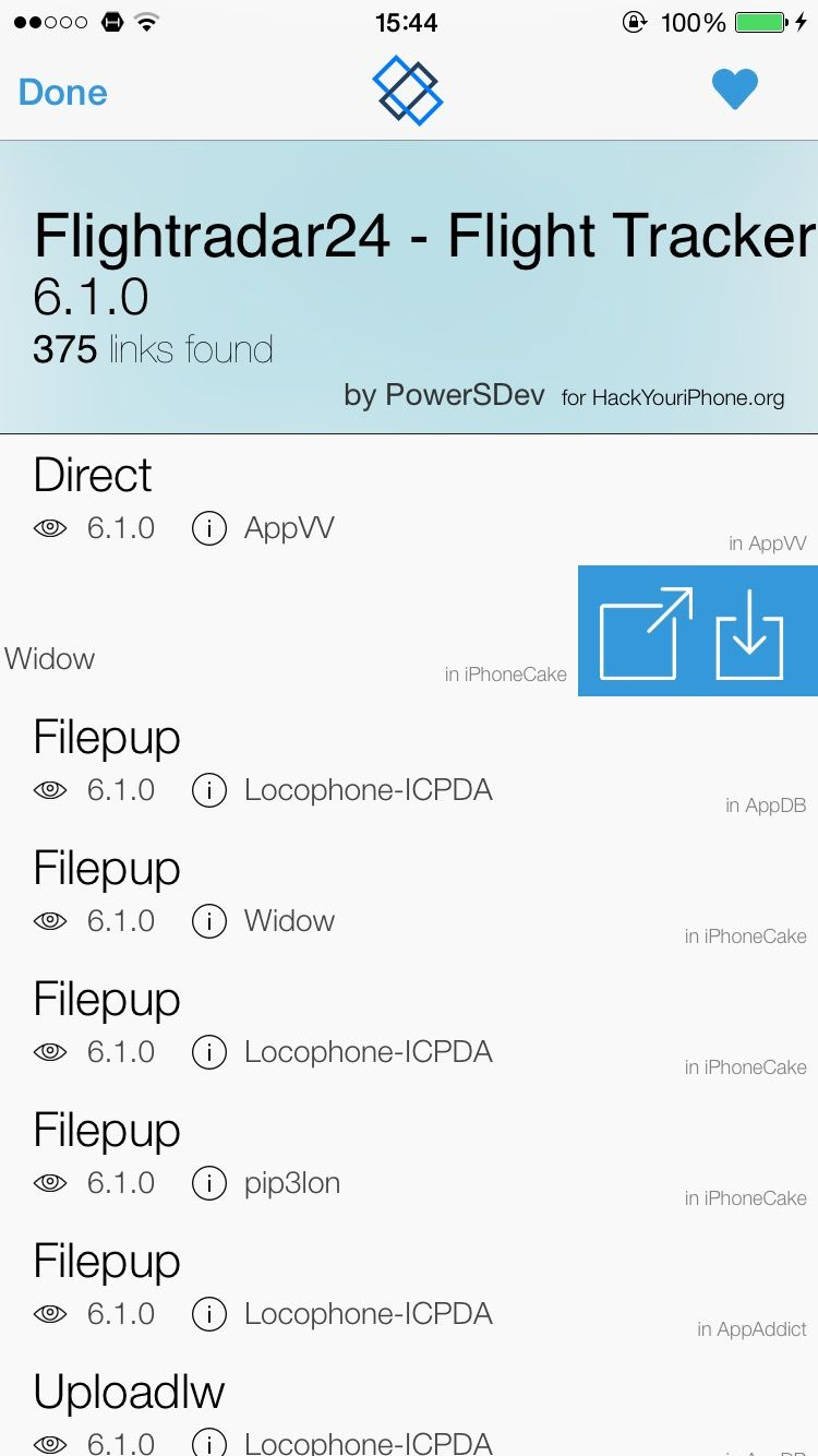 Download LinkStore for iOS 8 1.2