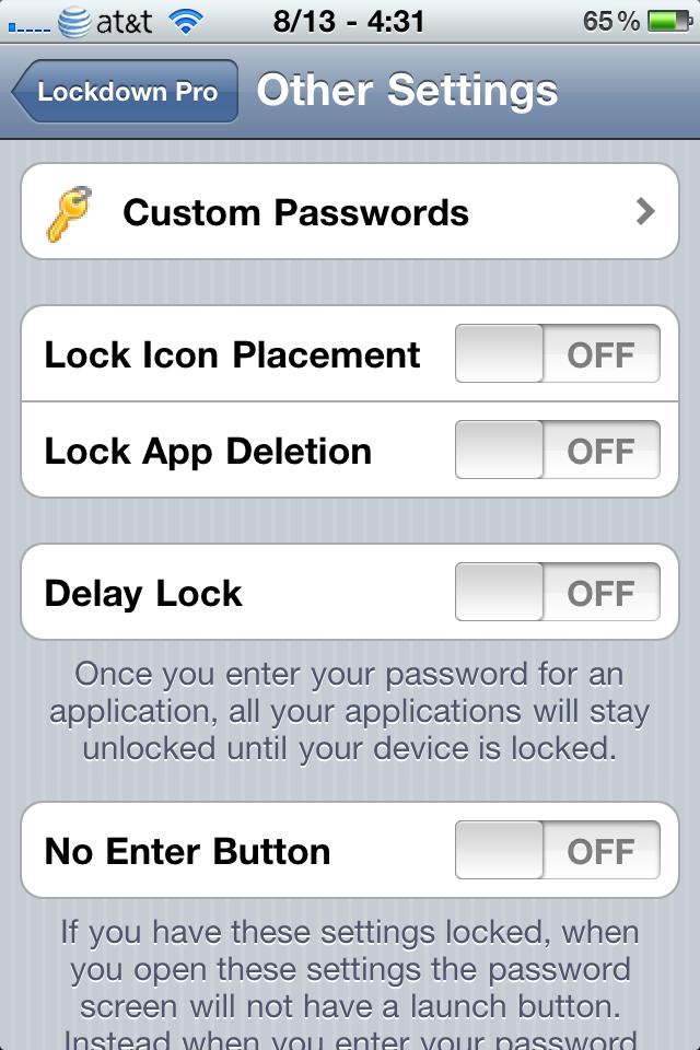 Download LockDown Pro 3.1.7