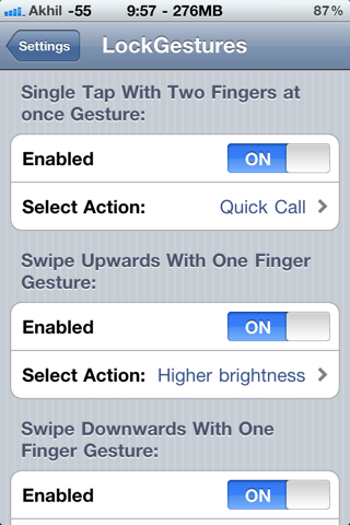 Download LockGestures 1.2