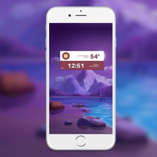 Download LockPlus Purple Poly 1.0