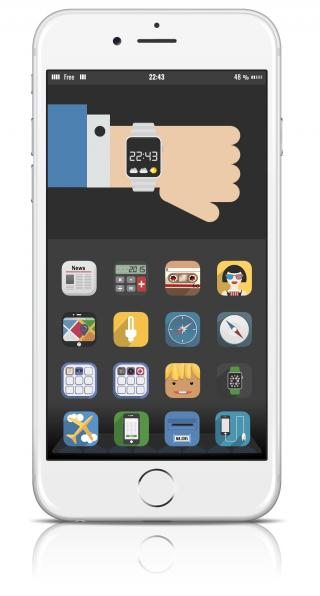 Download Mel Classic folder for iPhone 5,5S and 6 1.0