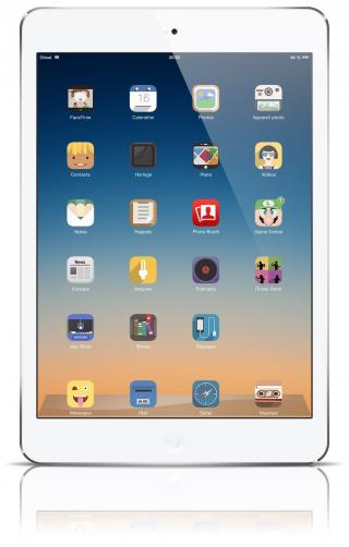 Download Mel theme for iPad 1.2