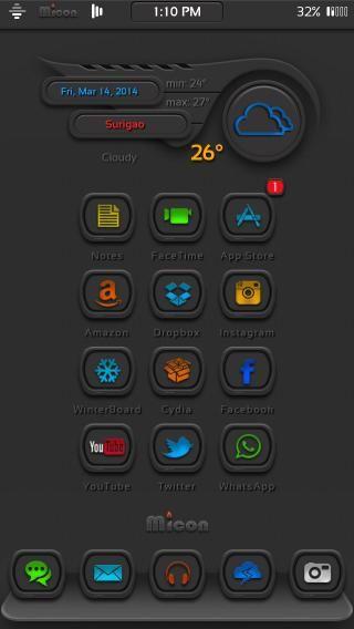 Download Mic0n-iOS8 1.0