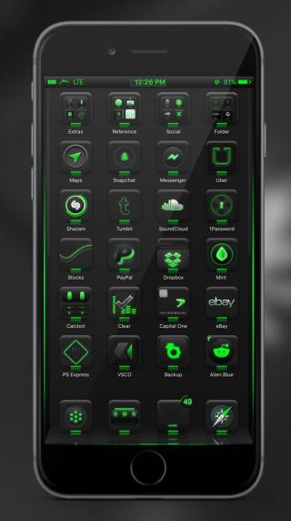 Download Midn1ght 10 Green 1.0a