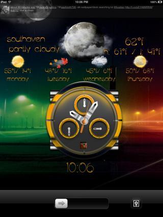 Download miLock Clock iPad 1.0