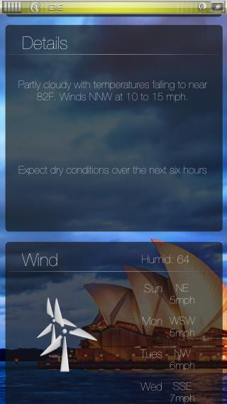 Download miWeather iOS7 Panorama 1.0