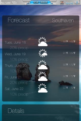 Download miWeather iOS Panorama 4S 1.0