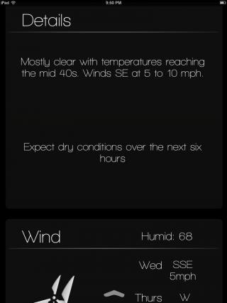 Download miWeather iPad Cydget 1.0a