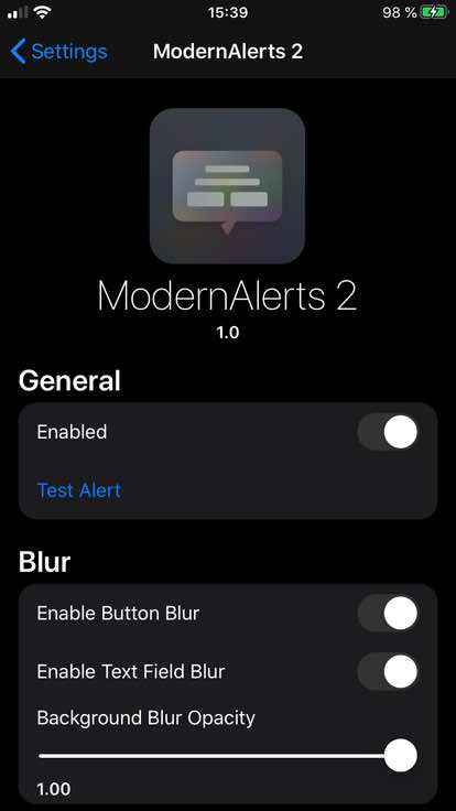 Download ModernAlerts 2 1.0.1k
