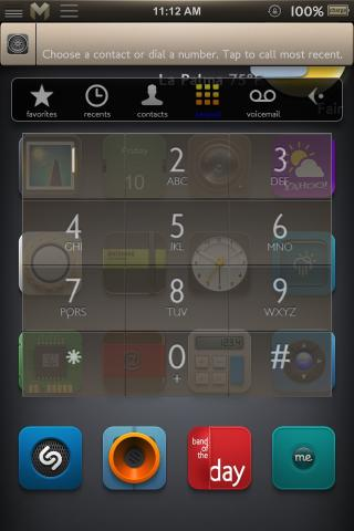 Download Motif Callbar Skin 1.0