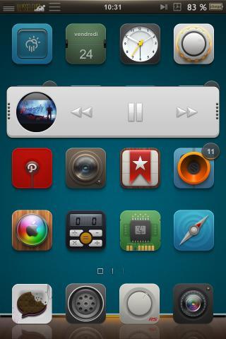 Download Motif MiniPlayer Skin 1.0