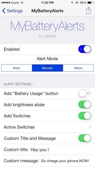 Download MyBatteryAlerts 1.0-3