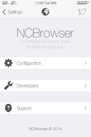 Download NCBrowser (iOS 7) 0.0.1