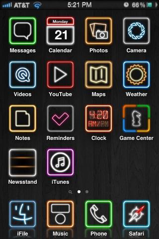 Download Darklit HD Theme 1.1