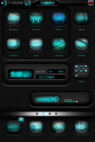 Download noname Cyan HD Weather Widget 1.0