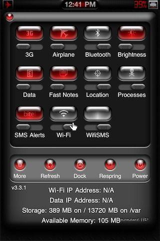 Download noname HD SBSettings 1.0