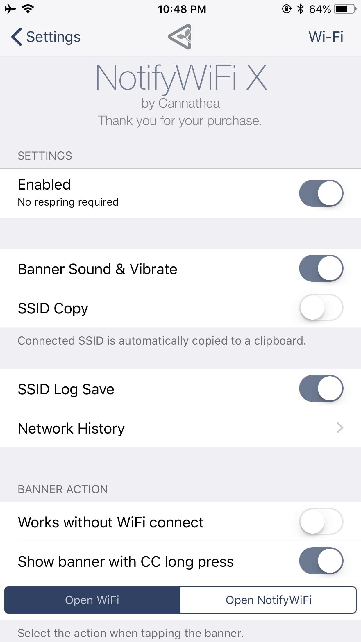 Download NotifyWiFi X 1.1.4k