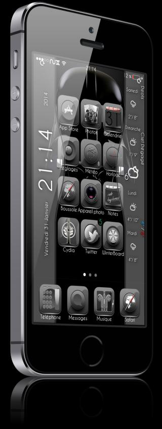 Download nux Weather Clock iWidget 1.0