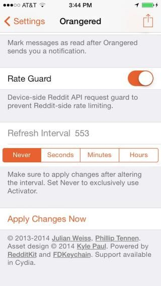 Download Orangered (iOS 8) 1.2-2