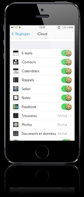 Download Original iCloud Setting Black 1.0