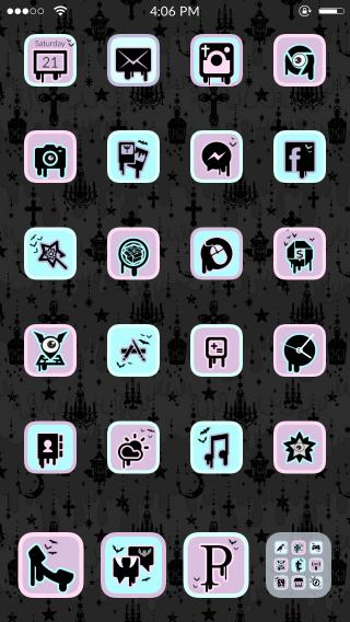 Download Pastel Goth Theme for Anemone 1.0
