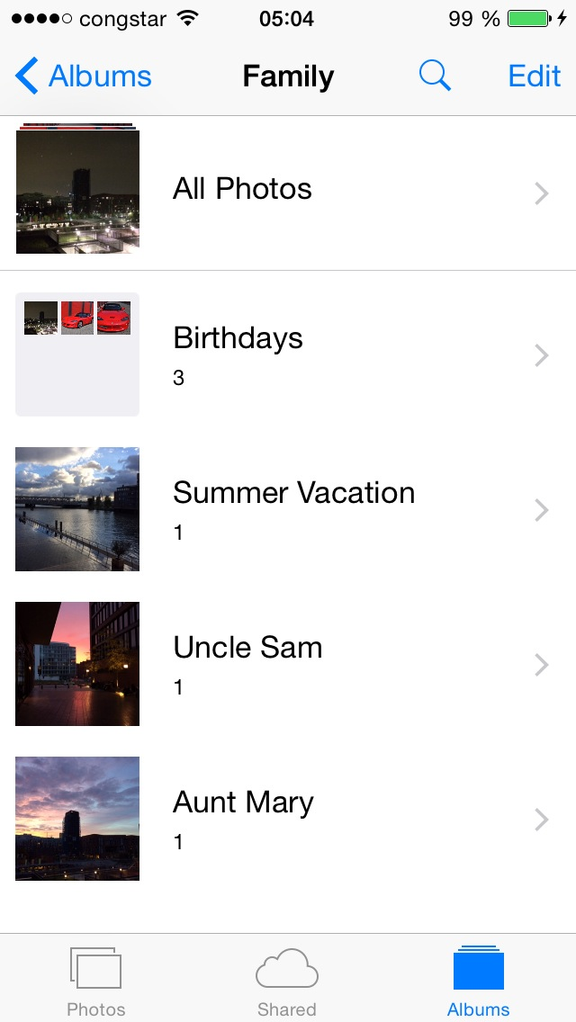 Download PhotoAlbums+ for iPhone/iPod 1.2.0.1