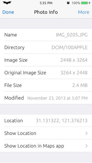 Download PhotoInfo 1.0
